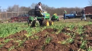 Garden Tractor Plow day 2016 Watsontown PA