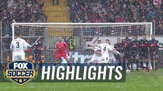 Eintracht Frankfurt vs. Bayern Munich   2017-18 Bundesliga Highlights