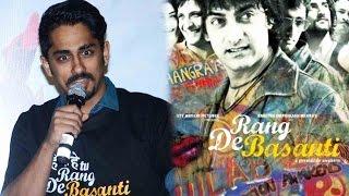 Siddharth Gets Emotional At 10 Years Of Rang De Basanti Celebration!