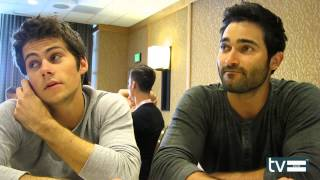 Teen Wolf Season 3: Dylan O'Brien & Tyler Hoechlin Interview