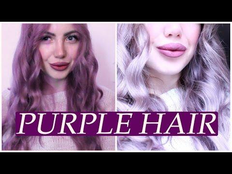 Как в домашних условиях смыть фиолетовый оттенок с волос