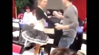 Nude Dance in public...