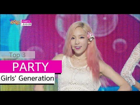 watch [HOT] Girls' Generation - PARTY, 소녀시대 - 파티, Show Music core 20150718
