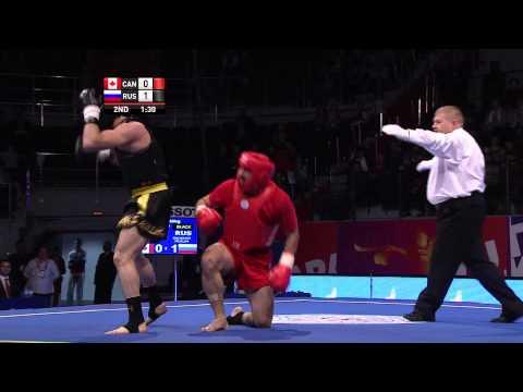 Wushu - Men's Sanda -80kg Finals