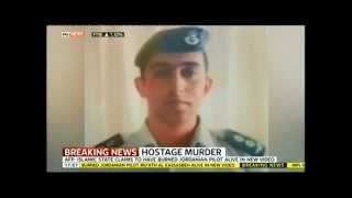 Warning - Graphic - ISIS Jordanian Pilot Burned Alive In Video, Mu'ath Al Kassasbeh Executed by ISIS