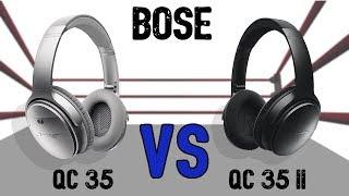 Bose QC35 vs QC35 ii comparison