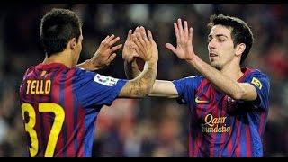barcelona great attackers who left 2011-2016(bojan , tello...)