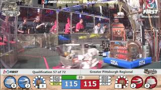 Qual 57 - 2017 Greater Pittsburgh Regional