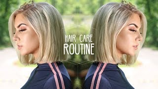 MY POPPIN HAIR CARE ROUTINE