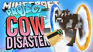 Minecraft - COW DISASTER - Project Ozone #38