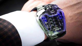 ساعات جنونية مذهلة تأخذك الى عالم التكنولجيا