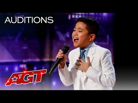 10 Year Old Peter Rosalita SHOCKS The Judges With All By Myself America s Got Talent 2021