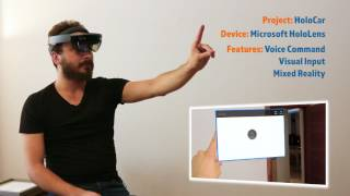 HoloCar Interactive HoloLens Mixed Reality Application by VR-Masters