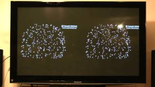Experimental PC-HD-to-HDTV 1920x1080 Display, 3D HDTV Stereo demo