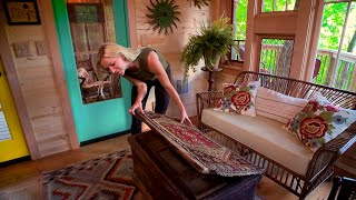 See How An Antiques Collection Got A New Home In The Bird Barn Treehouse!