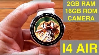 IQI I4 AIR 2GBRAM/16GBROM Smartwatch: Unboxing & Review