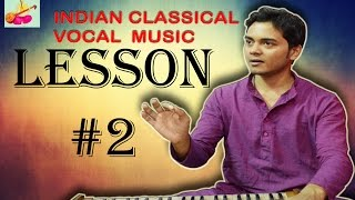 Learn+Indian+classical+music+vocal+singing+Lesson+%232+How+to+sing+SA+RE+GA+MA+PA+DHA+NI