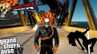 GTA IV LCPDFR Ghost Rider Mod Police Patrol - Episode 5 - Ending The Day at The Strip Club