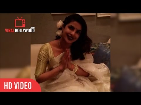 Priyanka Chopra Diwali Wishes from USA