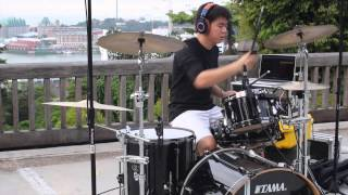Greek Fire - Top Of The World Drum Cover