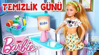 Barbie Evinde Temizlik Var❗ Barbie Bebek Çok Çalışkan💓 | Oyuncak Butiğim
