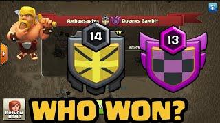AMBARSARIYA VS QUEENS GAMBIT CLOSE FRIENDLY WAR ???? BEST WAR ATTACKS????✌️ LETS SEE WHO WON