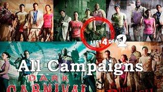 Left 4 Dead 2 - En Directo #LIVE en EXPERTO - All Campaigns L4D2 / Todas las Campañas L4D2 con Fails