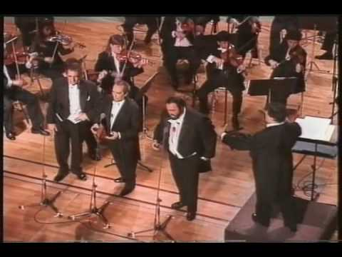 Rehearsal (5) The Three Tenors Concert 1994