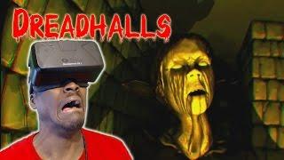 PETRIFIED!!! | DREADHALLS OCULUS RIFT DK2 HORROR GAME