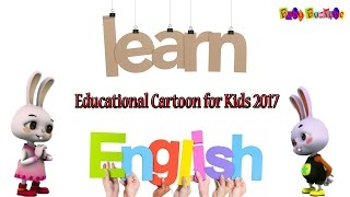 Educational Cartoons for Kids 2017: Learn English with Cute Baby animals: Episode 1