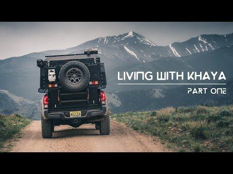 Living with Khaya Part One Alu Cab Khaya Camper
