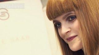 Mirte Maas - Model Talk at Fashion Week Fall/Winter 2012-13 | FashionTV