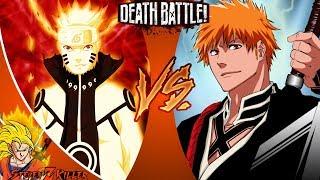 Naruto VS Ichigo | DEATH BATTLE! REACTION!!!