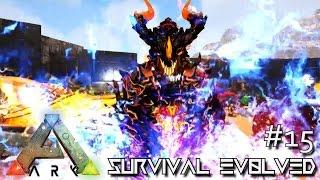 MODDED ARK: SCORCHED EARTH - GIANT DRAGON GODS !!! E15 (ARK SURVIVAL EVOLVED GAMEPLAY)