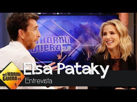 Elsa Pataky Las braguitas son una de las prendas que más perdemos las mujeres El Hormiguero 3.0