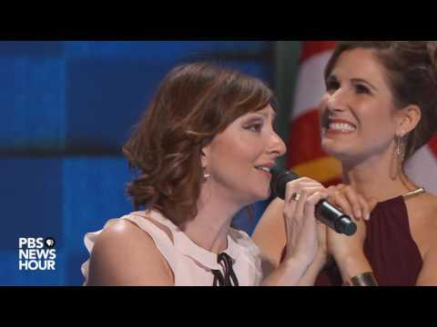 Broadway stars perform 'What the World Needs Now Is Love' at 2016 Democratic National Convention