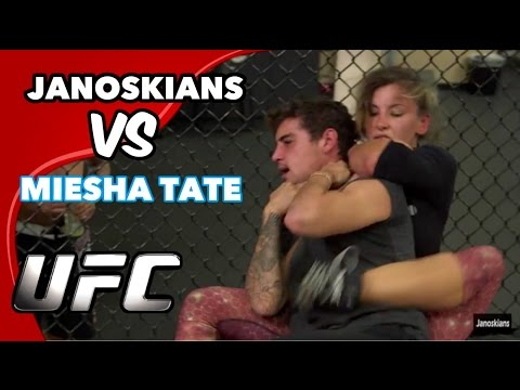 FIGHTING A CHAMPION WOMAN UFC FIGHTER (Miesha Tate)