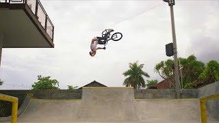 Daniel Wedemeijer Surfs Concrete on Bali
