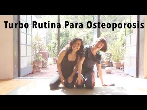 Turbo Rutina Para Osteoporosis De Pilates  En Mat