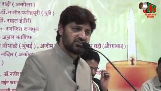 Abrar Kashif, Buldhana Mushaira, Org. Dr. GANESH GAIKWAD, 15/01/2016, Mushaira Media
