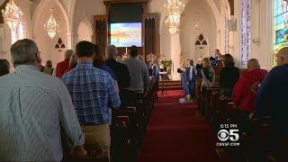 Napa Residence Find Solace In Church After Wildfires