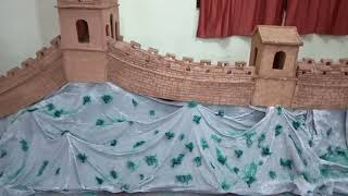 Model of china wall