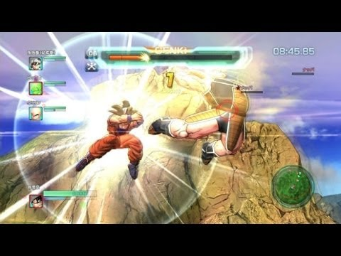 Dragon Ball Z Battle of Z Gameplay PS3