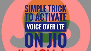 How to active Voice over LTE in ur Smartphones like Motorola, Vivo, Mi, Lenovo, Oppo, Gionee