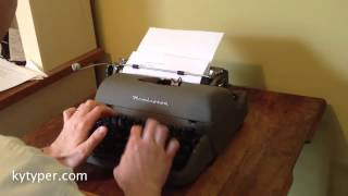 For Sale - l950s Remington New Quiet-riter Typewriter **SOLD**