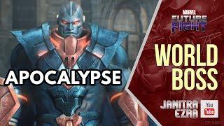 [Marvel Future Fight] World Boss Apocalypse (Unlocking + Gameplay)
