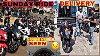 ZERO VISIBILITY SUNDAY RIDE & SOUTH INDIA'S 1st 2K18 BLACK & RED HAYABUSA DELIVERY