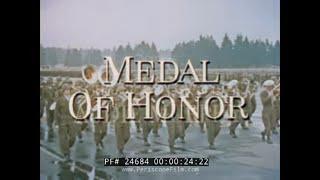 MEDAL OF HONOR  AUDIE MURPHY  TREASURY DEPT. PROMO FILM 24684