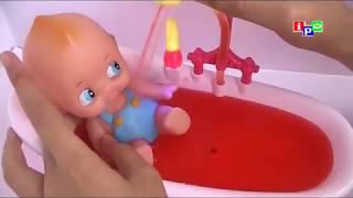 Fun Bath Time with Bathtub Doll For Baby