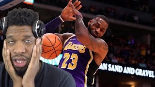 YEA LAKERS ARE TRASH GUYS.. LAKERS vs NUGGETS HIGHLIGHTS REACTION